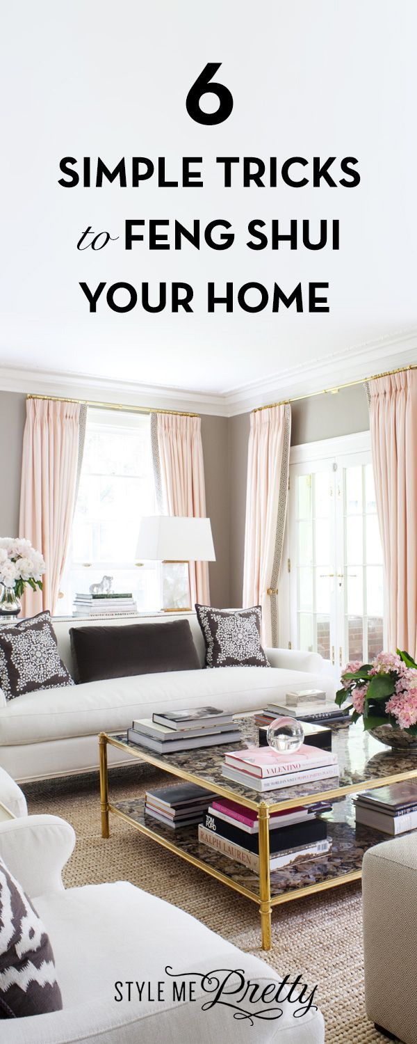 Feng Shui Your Home With These Simple Tricks | Feng shui, Living ...