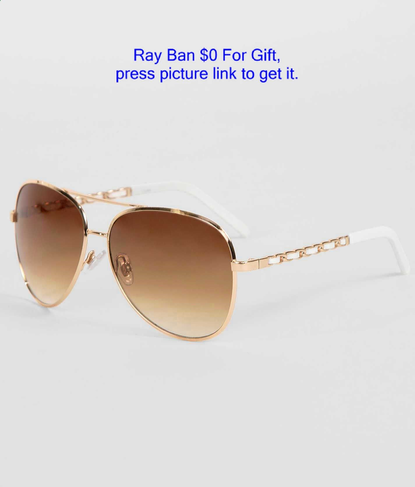 BKE Lamb Aviator Sunglasses - Womens Accessories