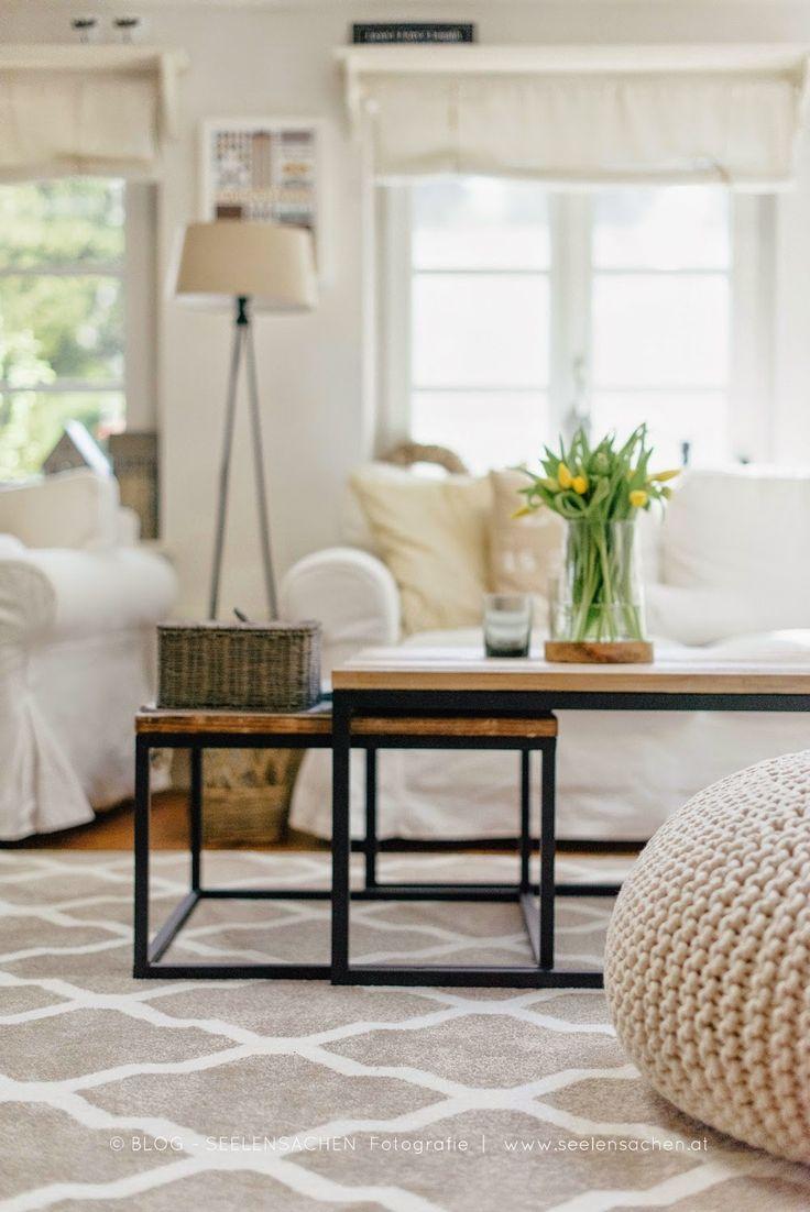Wohnzimmer des modernen interieurs des hauses seelensachen frischer u einen hauch moderner unser
