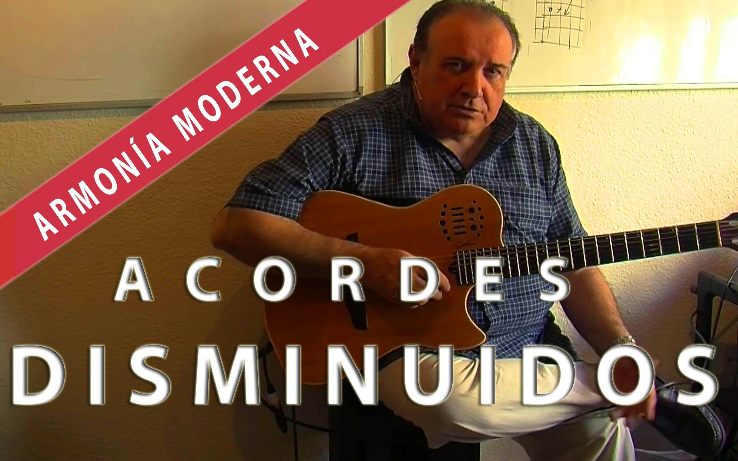 MASTER CLASS SOBRE ACORDES DISMINUIDOS | Félix Santos