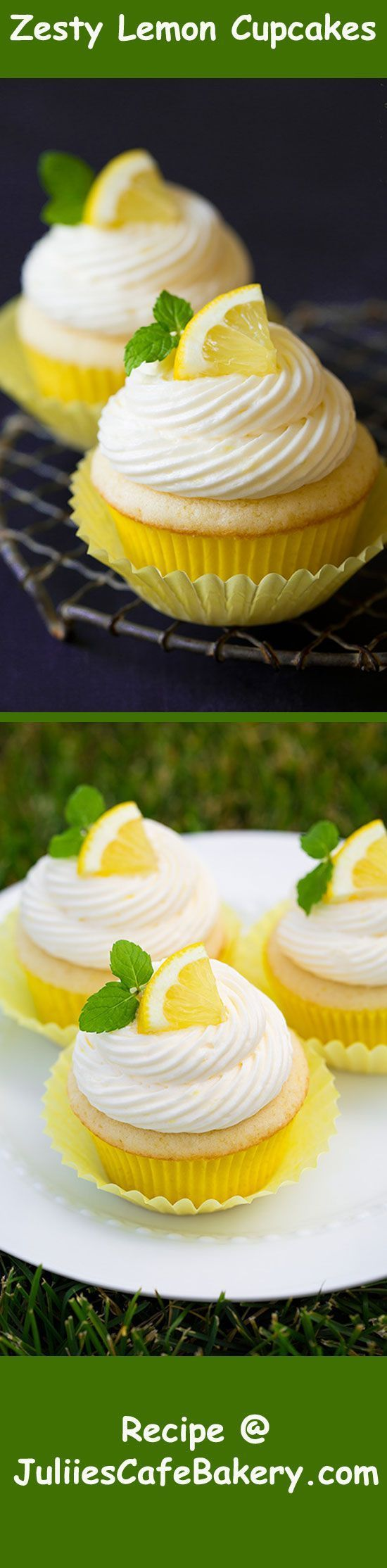 Zesty Lemon Cupcakes with Refreshing Lemon Buttercream Frosting #lemonbuttercream Zesty Lemon Cupcakes with Refreshing Lemon Buttercream Frosting recipe @ juliescafebakery.com #lemonbuttercream Zesty Lemon Cupcakes with Refreshing Lemon Buttercream Frosting #lemonbuttercream Zesty Lemon Cupcakes with Refreshing Lemon Buttercream Frosting recipe @ juliescafebakery.com #lemonbuttercream