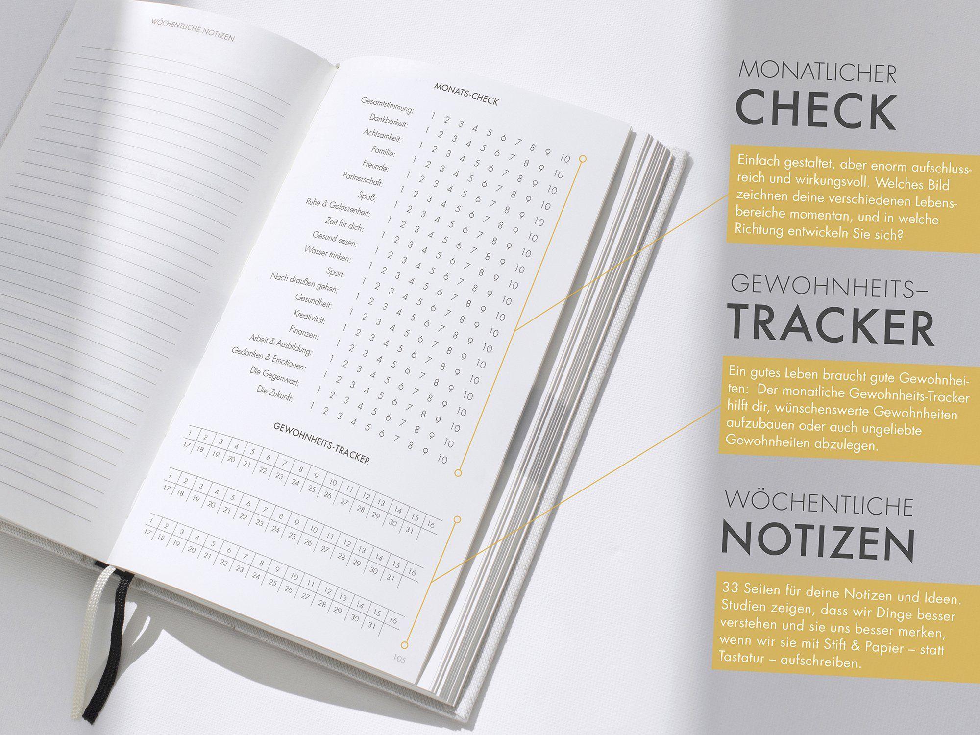 Das 6 Minuten Tagebuch Ein Buch Das Dein Leben Verandert Mix Aus Sach Praxis Und Notizbuch Amazon De Dominik Spenst Ba Cher Notizbuch Notiz Bucher