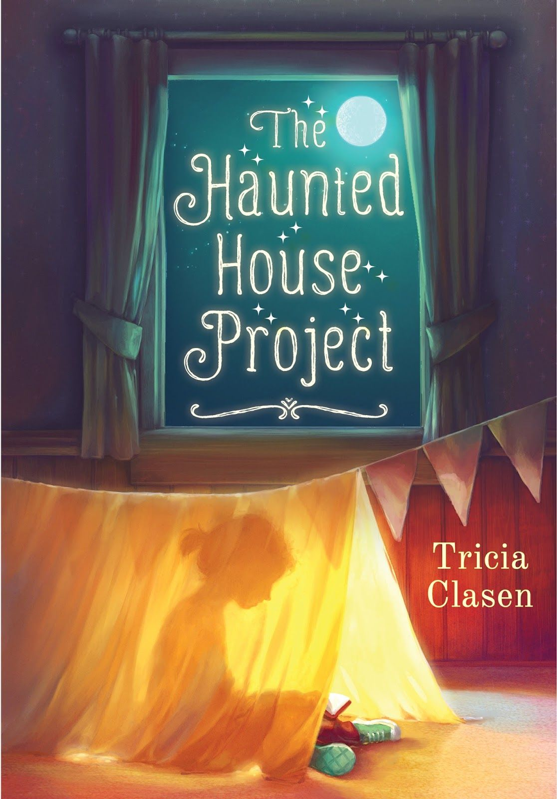 The Haunted House Project by Tricia Clasen   Pretty Books   Pinterest