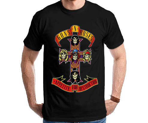 Guns N Roses Appetite for Destruction Camiseta Camisa