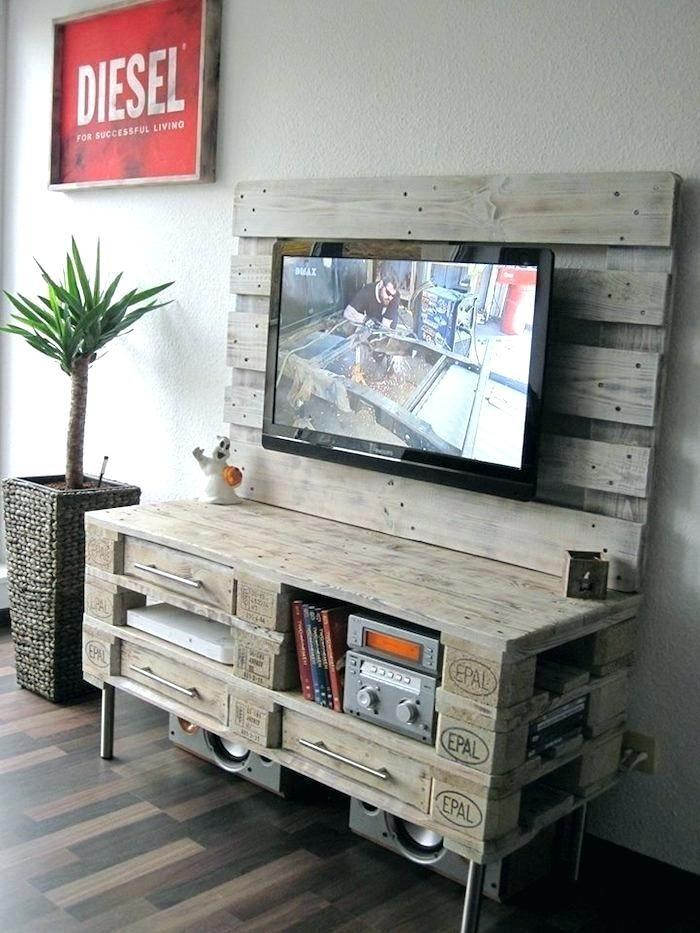 Transformer meuble commode meuble tv commode en palette de Transformer meuble tv