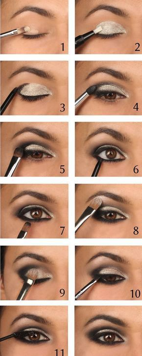 smokey eye picture tutorial