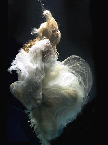 underwater angel