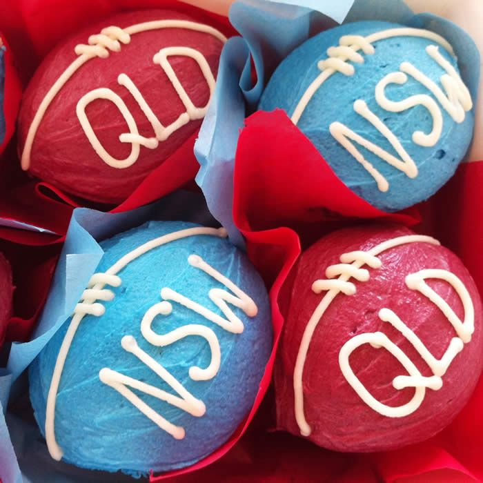 State Of Origin Cupcakes Rugby League Party Food