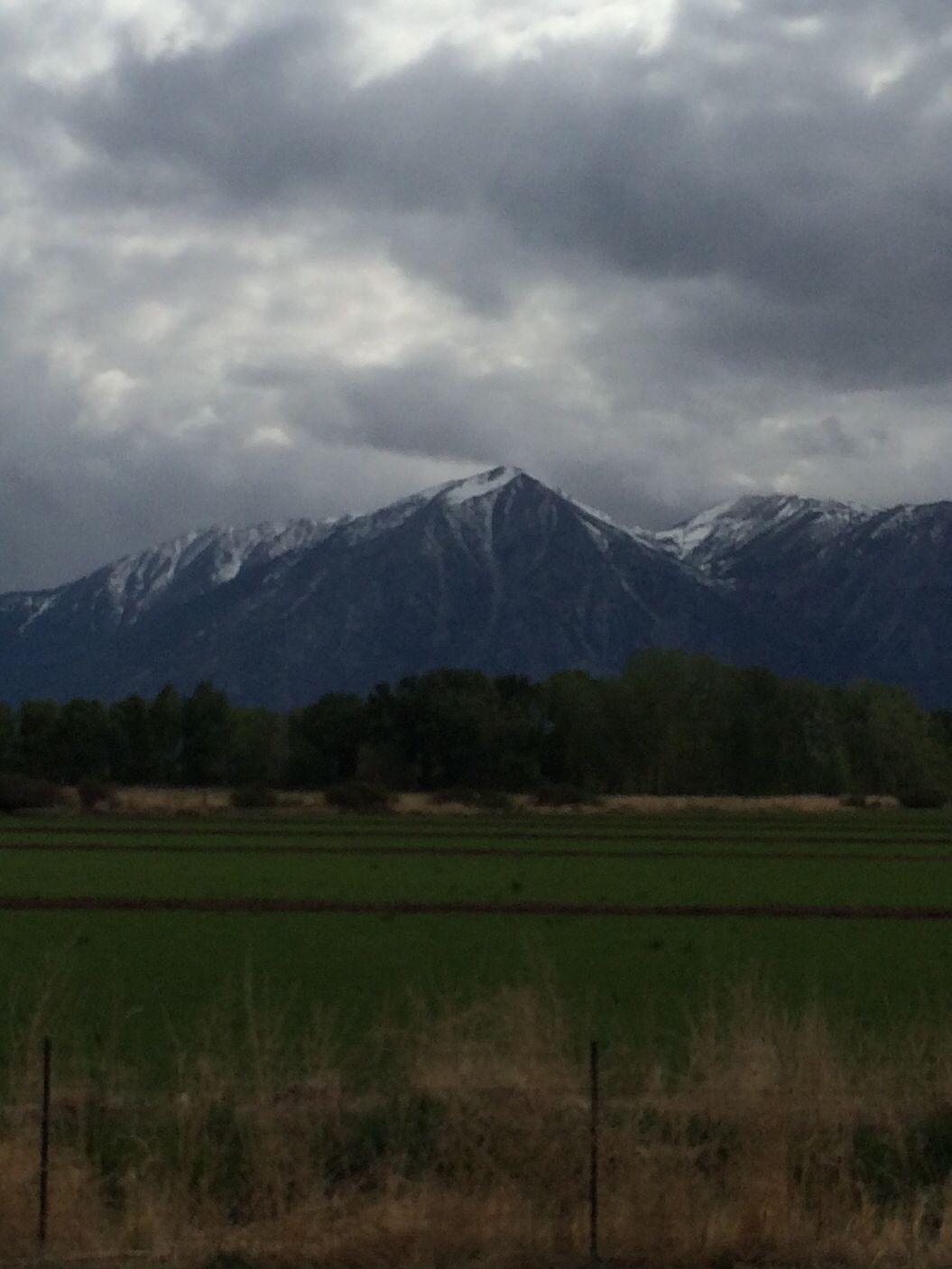 Stormy Day At Jobs Peak Near Gardnerville Nv Wild Wild West