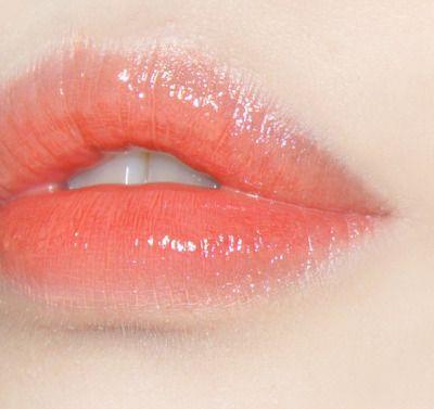 Ulzzang Aesthetic Makeup Makeup Looks Glossy Lips