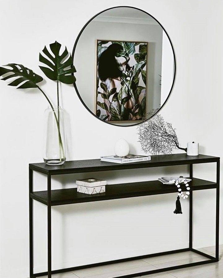 "Photo of GLOBEWEST på Instagram: ""Repost @branchedesigns   Monokromatisk enkelhet med vår Baxter terningkonsoll   Interiors & Styling av: Laura Steele @branchedesigns  … """