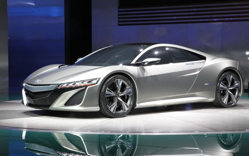 New Acura Sports Car High Quality Wallpaper