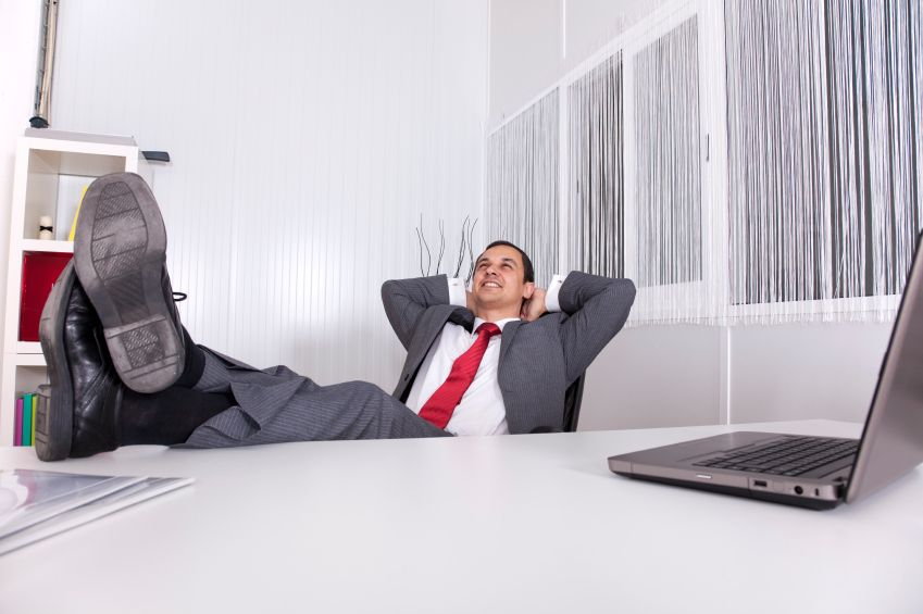 Stuck in the office while everyone else is on Easter break? 5 Reasons to be Lazier at Work. #productivity #work