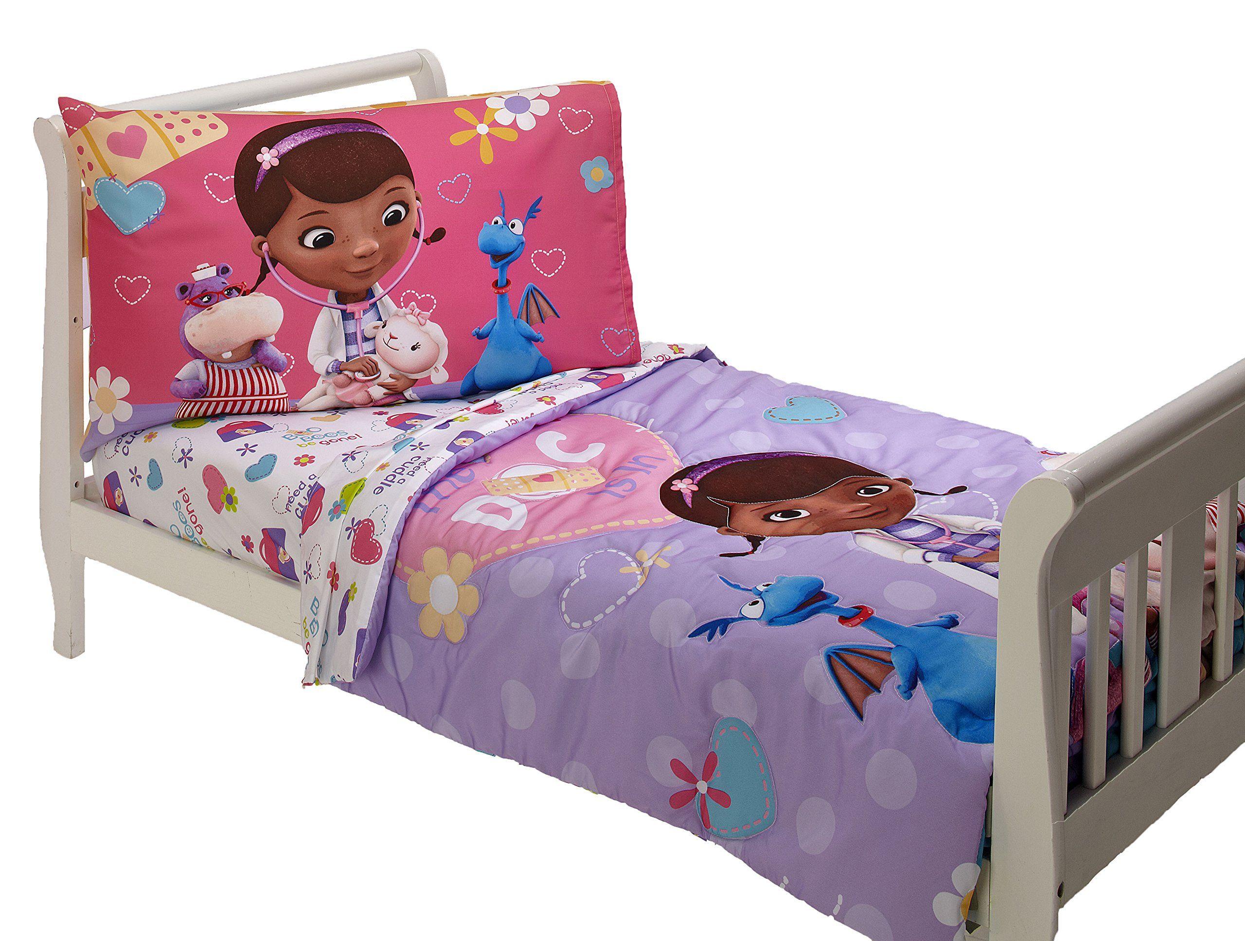 disney 4 piece toddler set doc mcstuffins  click image