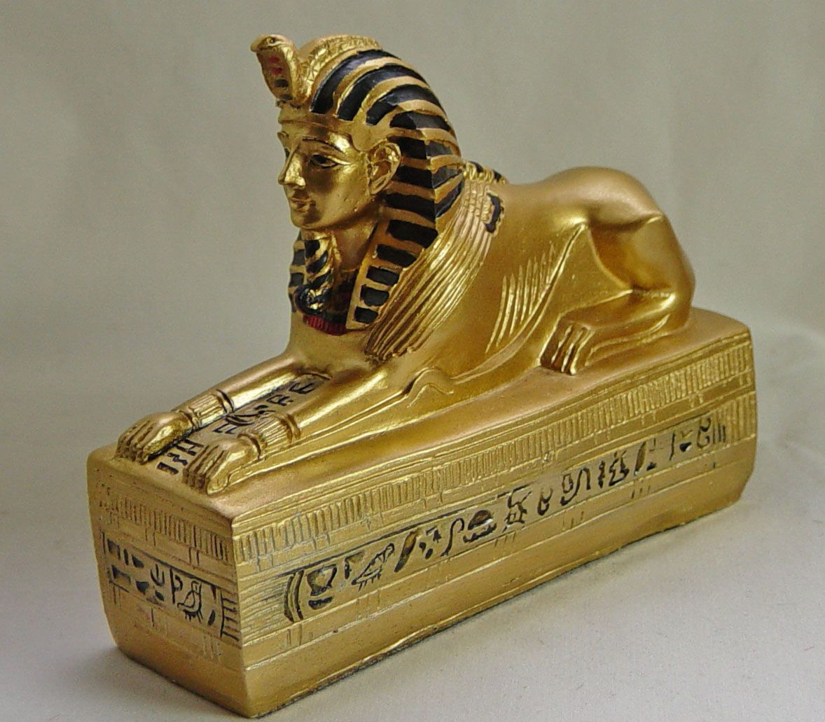 Ancient egyptian furniture - Kemetic Furniture Relics Dolls House Sphinx Ancient Egyptian