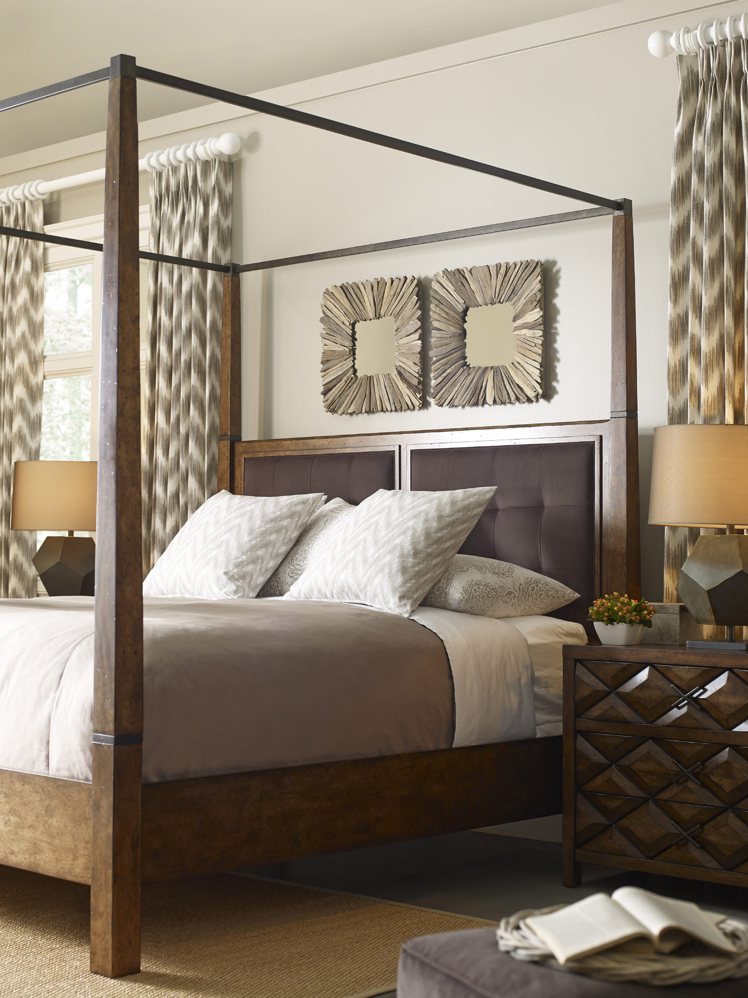 Echo Park King Canopy Bedroom Set | A.R.T. Furniture | Home ...