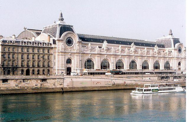 Paris, Orsay Museum from the outside by m. muraskin-france by m. muraskin, via Flickr