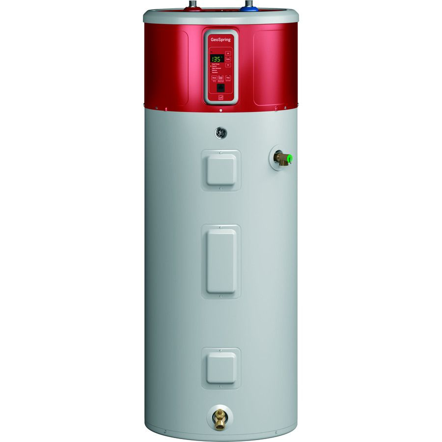 Ge Geospring 50 Gallon 10 Year Limited Regular Electric Water Heater With Hybrid Heat Pump Electric Heat Pump Heat Pump