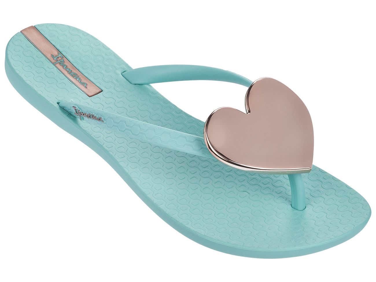 66e22a2f781f28 Wave Maxi Heart Flip Flops Slim Footbed Beach Sandals beach  slipper footwear thongs