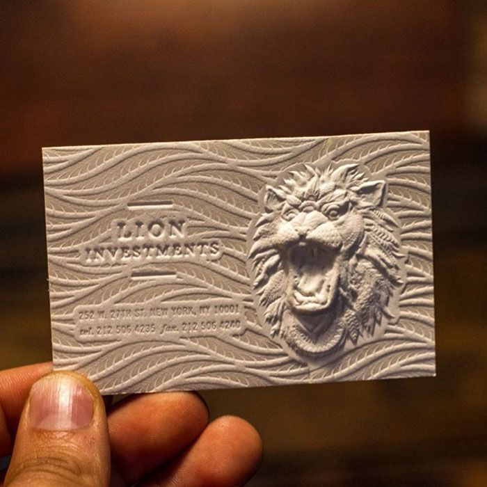Stunning 3d Embossed Business Cards 3d Business Card Embossed Business Cards Business Card Design
