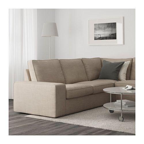 Kivik Canape D Angle 4 Places Hillared Anthracite Ikea Sofas