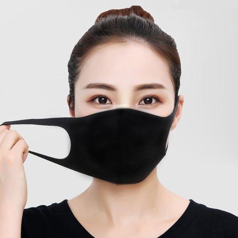 No Sew Tie Dye Face Mask Pattern, DIY EASY No Sewi