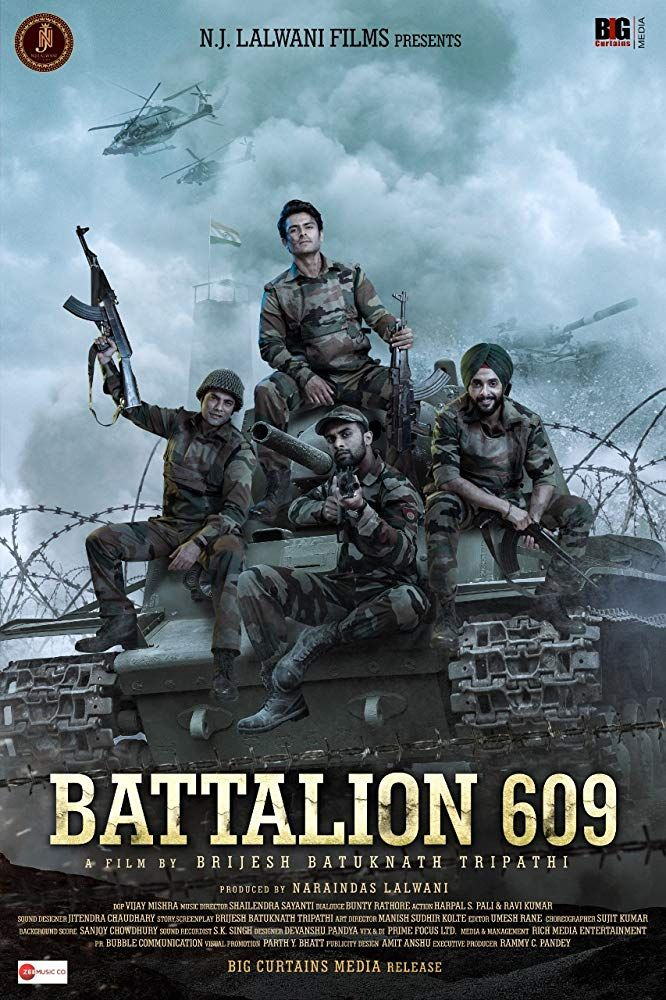 Battalion 609 (2019) Hindi PRE DVD Rip HD 700MB - x264 Download