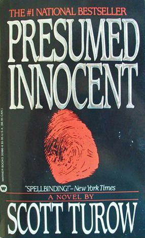 Presumed Innocent - 35 stars out of 5 sm Books - My Reads - presumed innocent