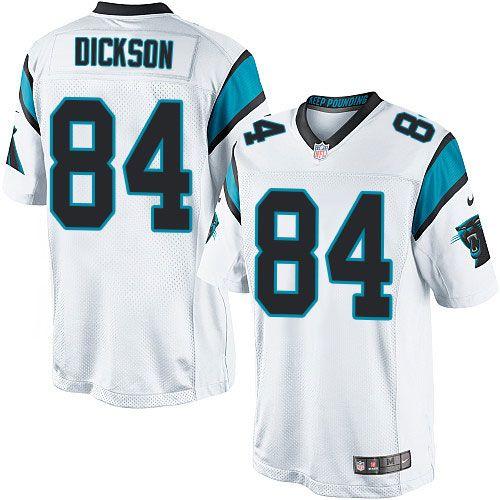 hot sale online 5871d 34131 Nike Limited Ed Dickson White Men's Jersey - Carolina ...