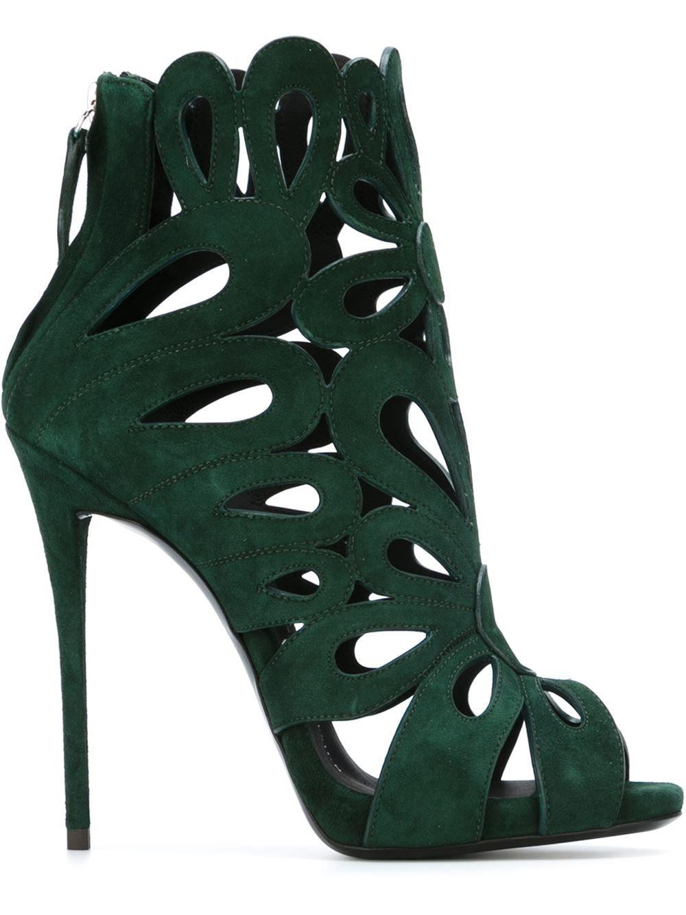 9bd48167bad Giuseppe Zanotti Design Rear Zip Sandals - Satù - Farfetch.com