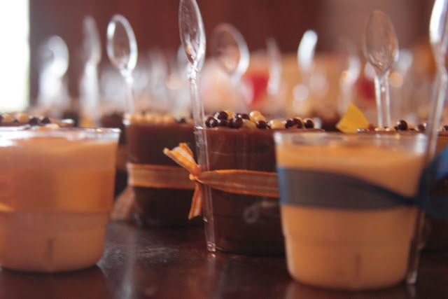 Tie spoons to deserts