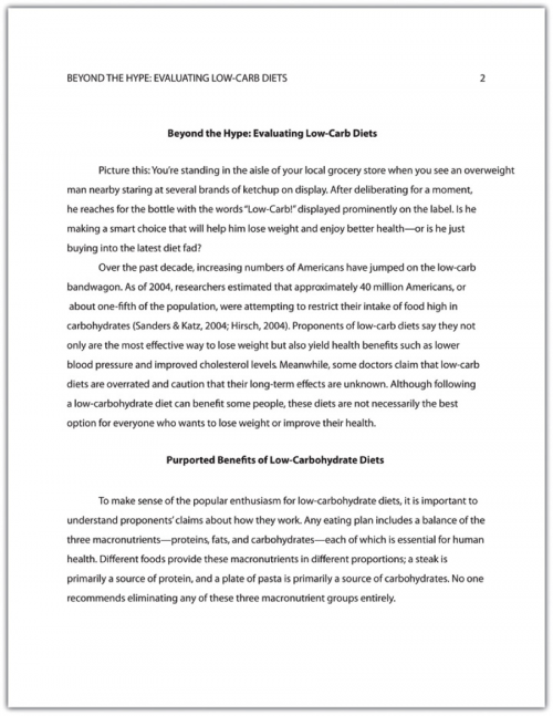 apa research paper on healthcare