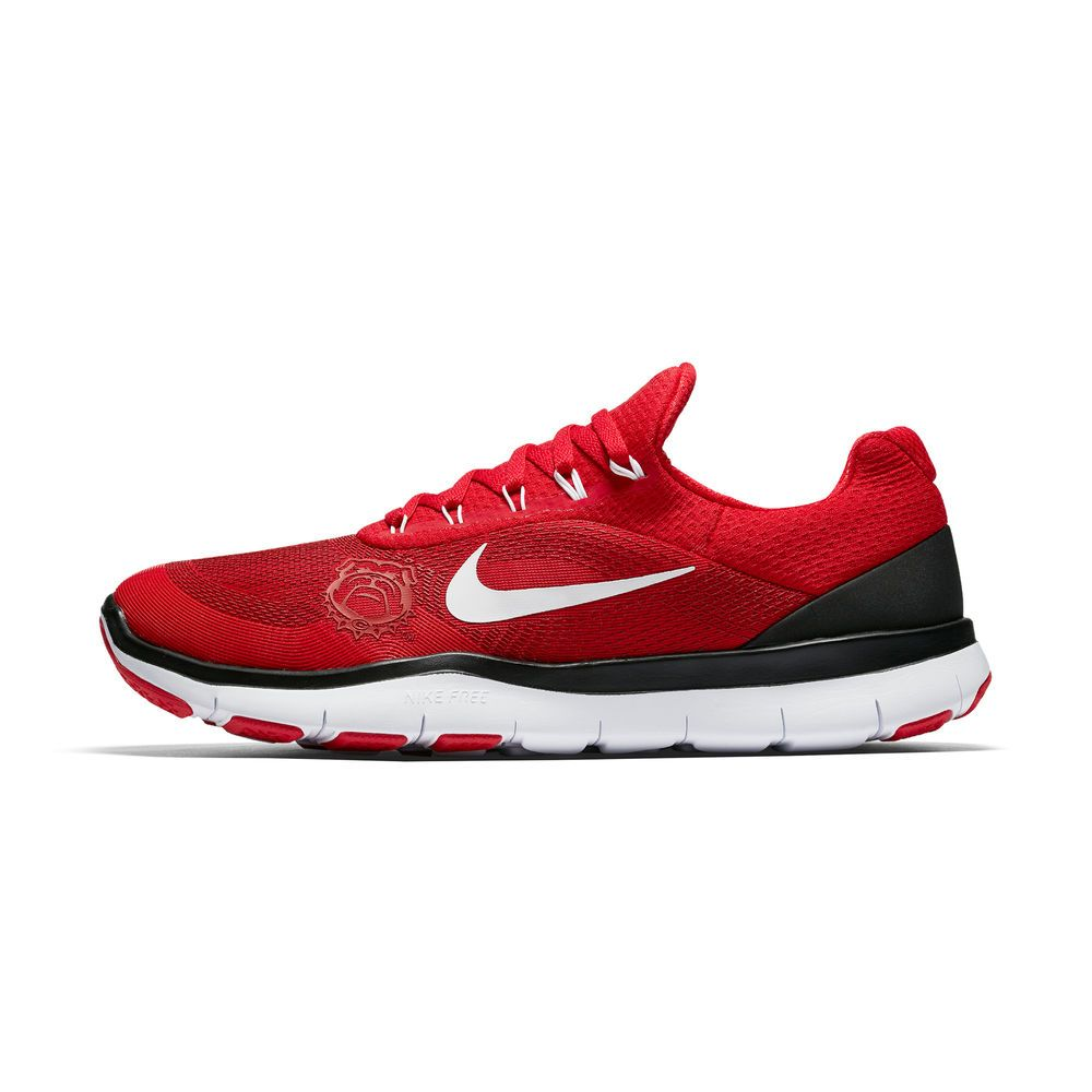 f28b3de075 ... Georgia Bulldogs Nike Free Trainer v7 Spring Games Collection Shoes -  Red .
