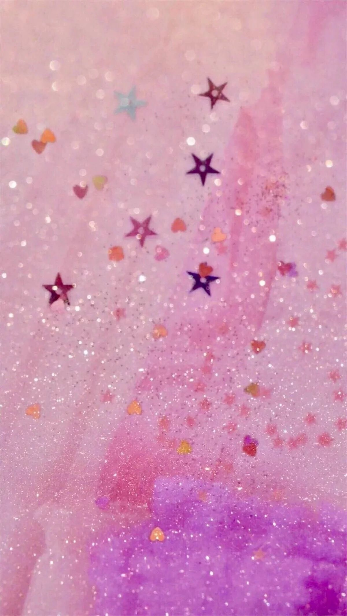 Pink Wallpaper Mobile Backgrounds Iphone Wallpapers Girls Papo Glitter S For