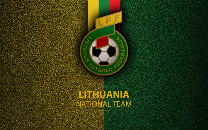 футбол 1 Wallpaper: Download Wallpapers Lithuania National Football Team, 4k