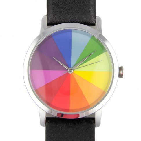 Color Wheel Watch Gifts For Art Lovers Color Wheel Colorful Watches