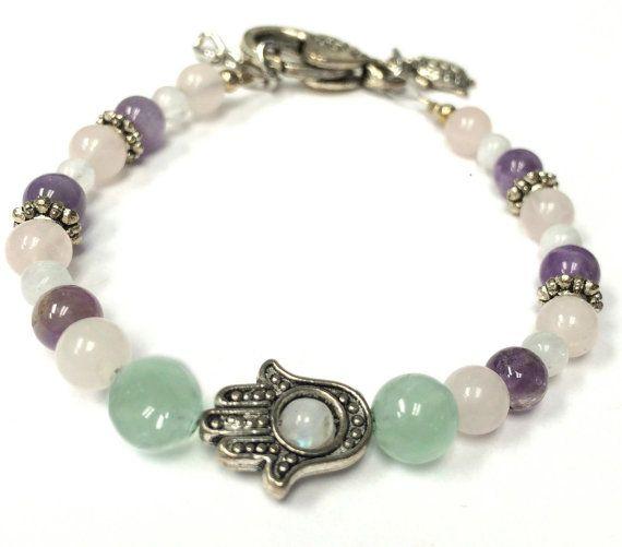 Hamsa Fertility Bracelet Infertility Ivf Iui Ttc Baby Gift For Her Healing Jewelry