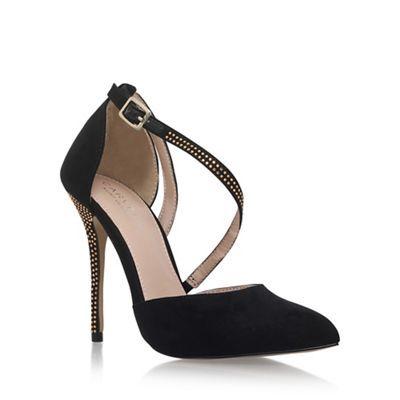Carvela Black Lucy2' high heel sandals