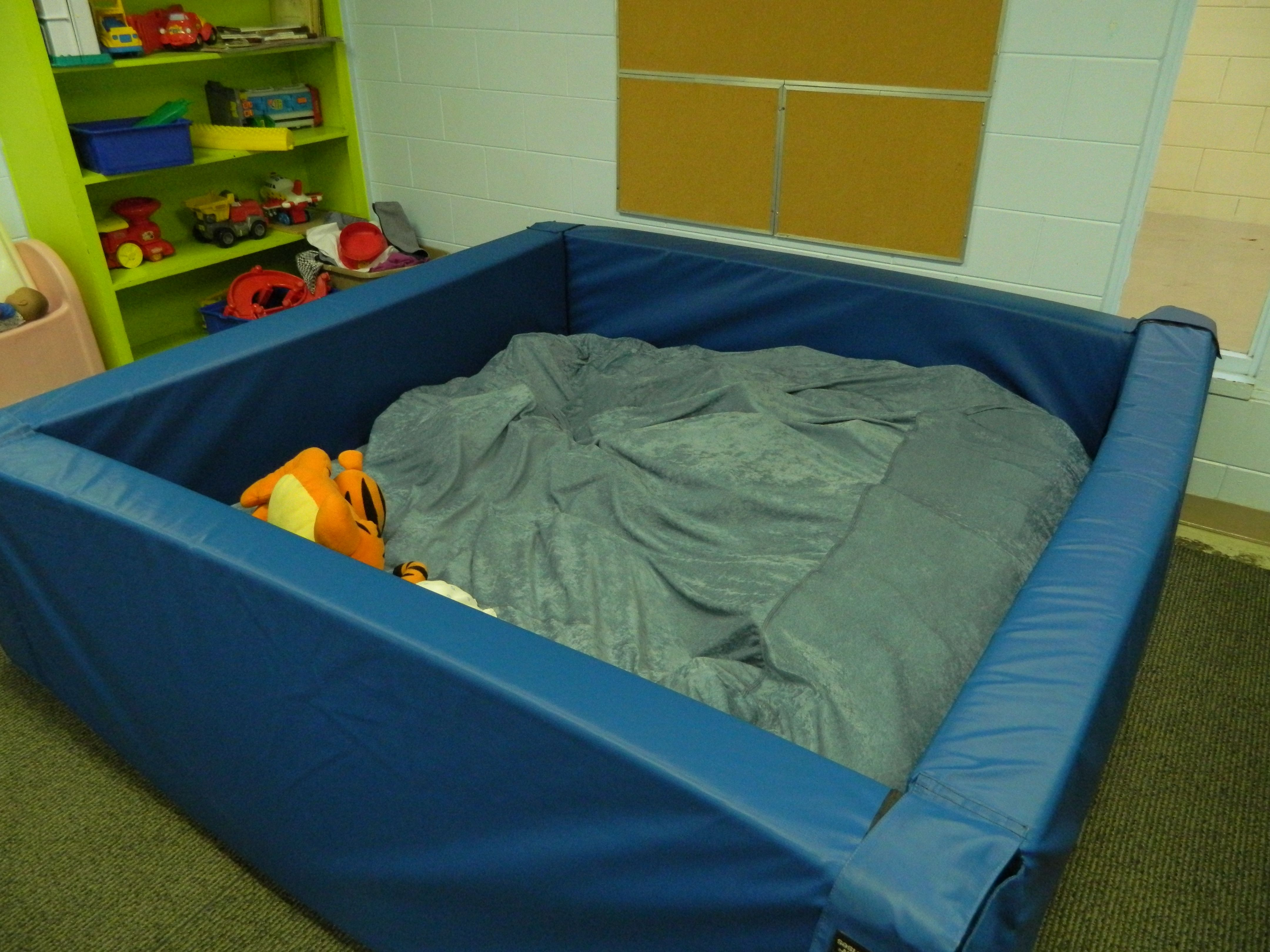 Foam Crash Pit I want this for our OT Room