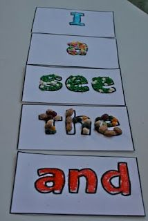 Plethora of sight word activities :}
