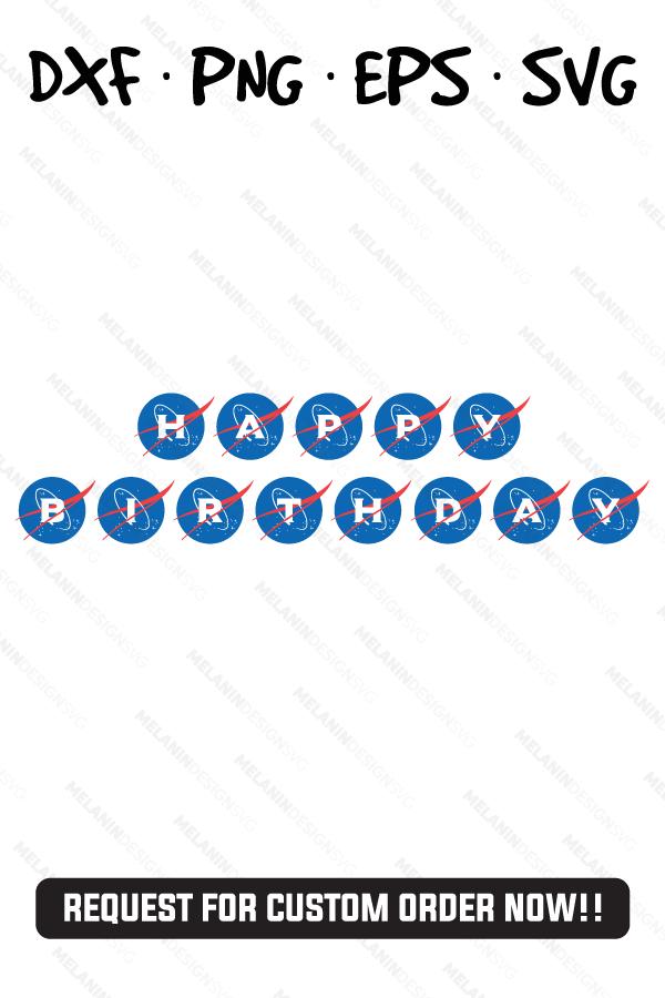 Happy Birthday Nasa Birthday Party Theme in 2020