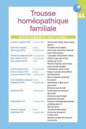 Mich le boiron trousse hom o familiale homeopathie pinterest homeopathie sant et sant - Apres fausse couche naturelle ...