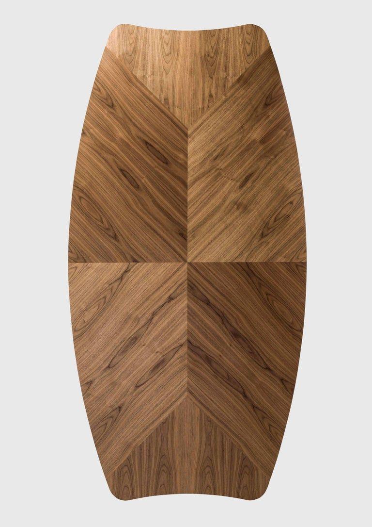 Gaulino Walnut Table Ahsap Masa Mobilya Dekorasyon Fikirleri