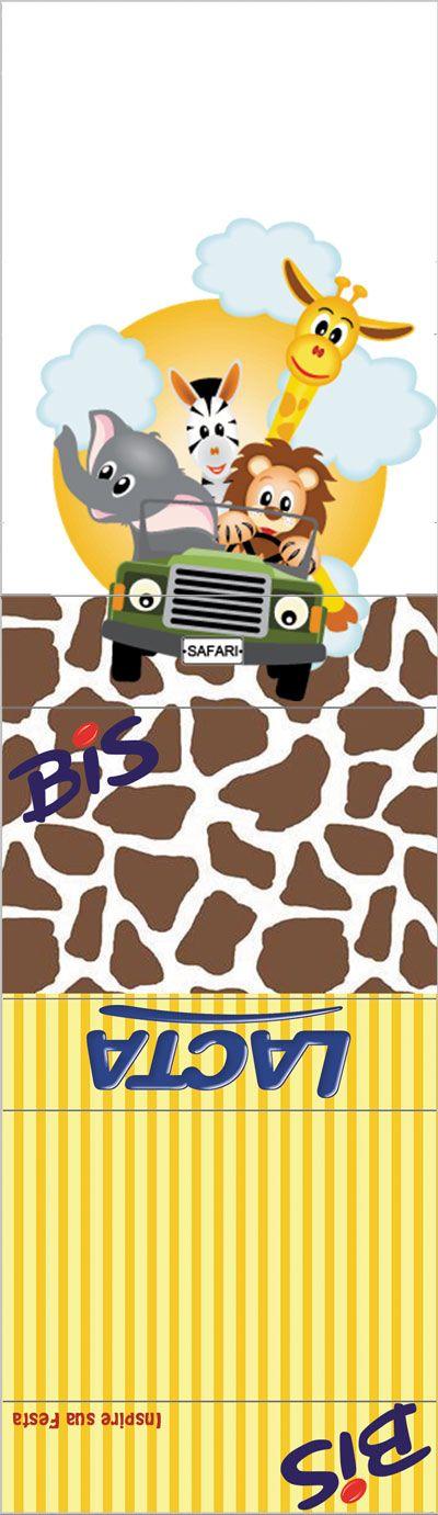 Safari Kit Festa Grátis Para Imprimir תמונות שנות לילדים Safari