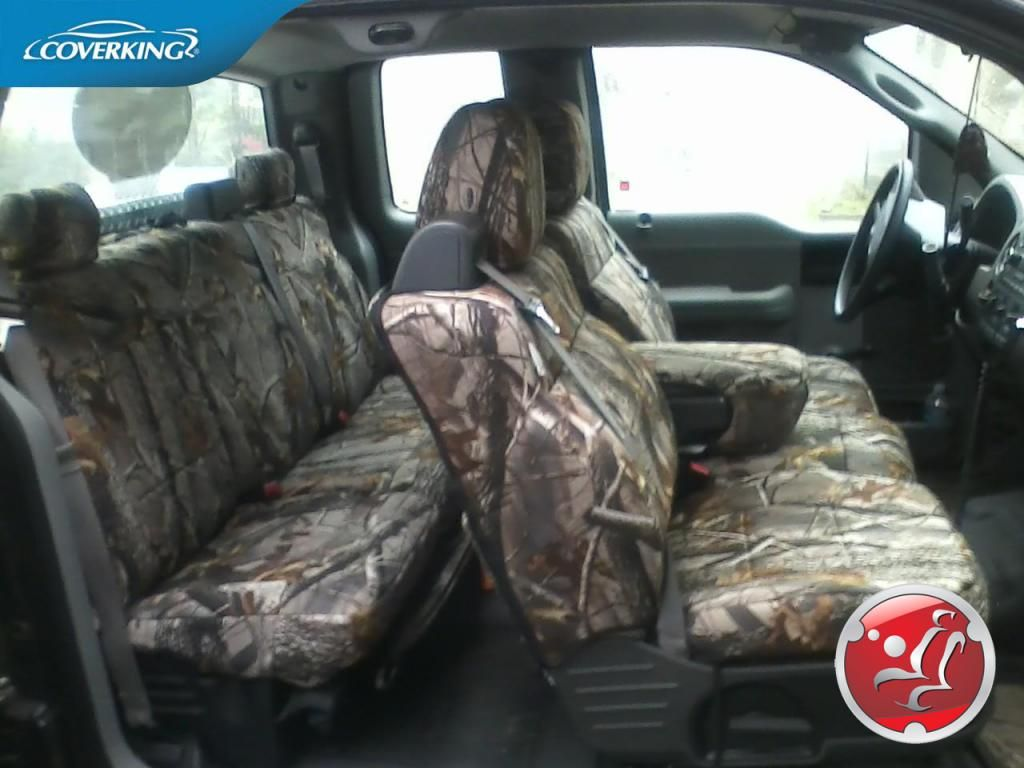 Browning Camo Seat Covers For Ford 2005 Trucks Interior