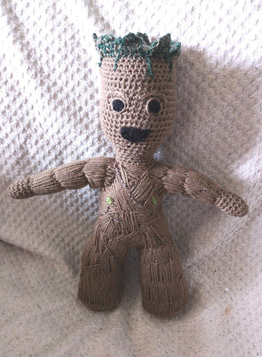 Toddler Groot – Crochet Pattern – My Creative Blog | 1199x879