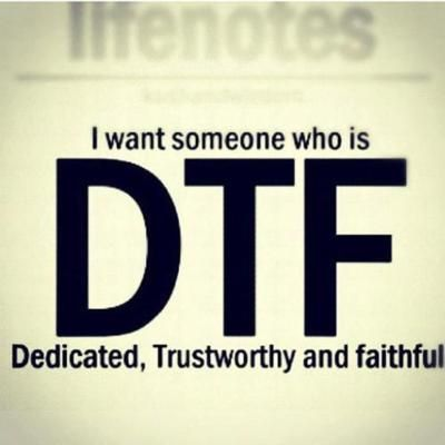 Meaning of dtf