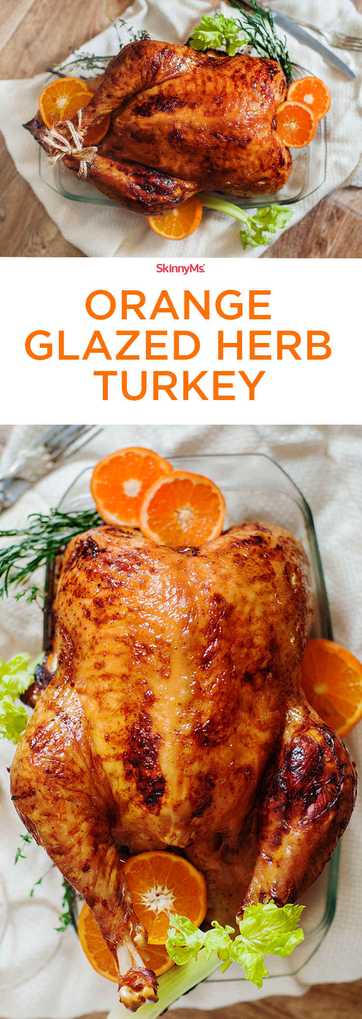 Photo of Orange Glazed Herb Turkey