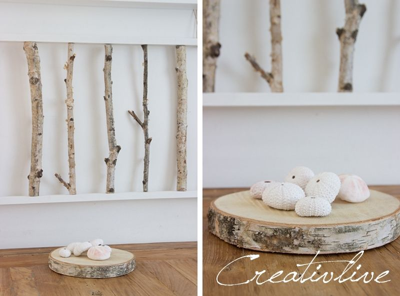 creativLIVE: DIY Birkenrahmen