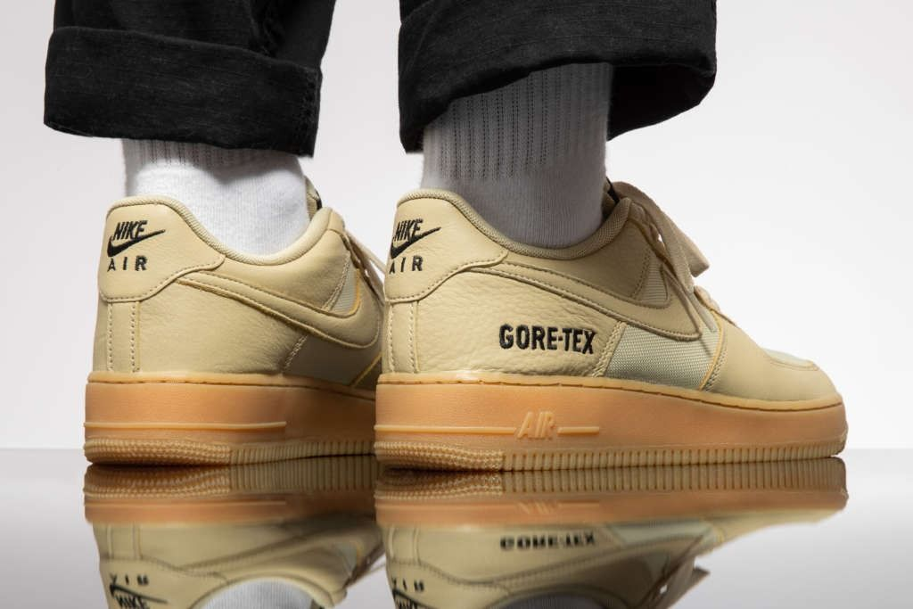 Nike Air Force 1 Low GTX: Two Gum Soled Colorways